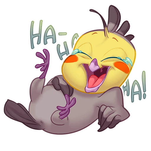 Bird Stickers Telegram ✓ Satu Sticker